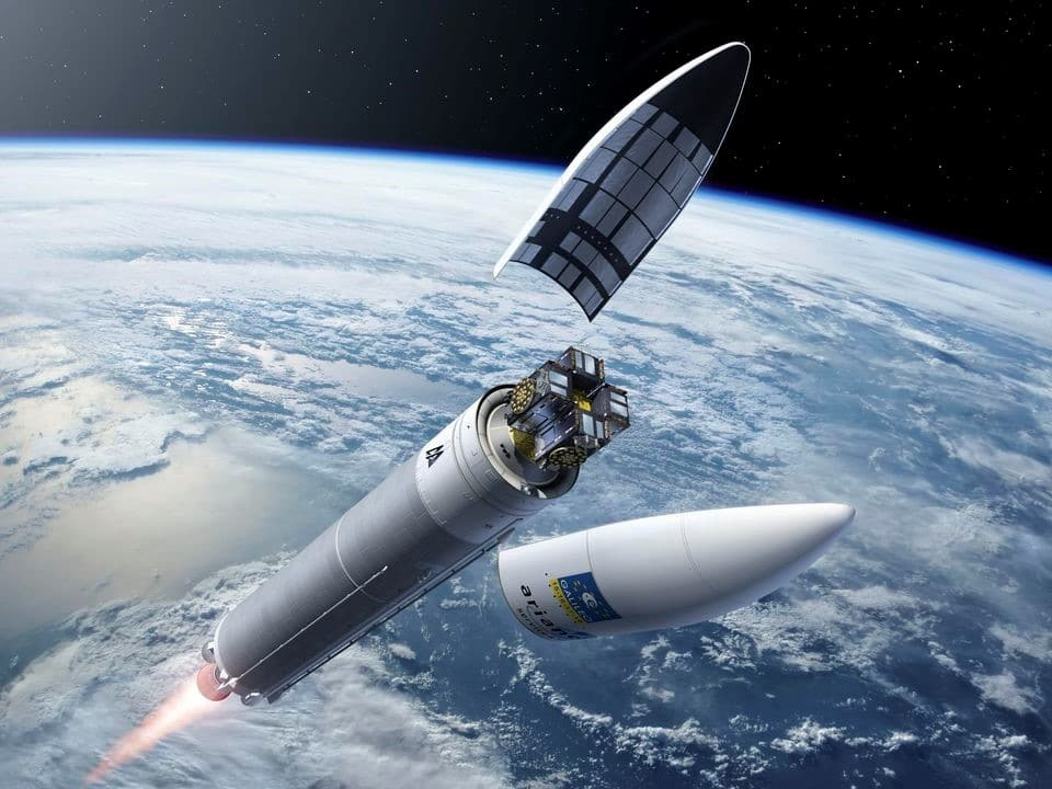 Modélisation du lancement de 4 satellites Galileo