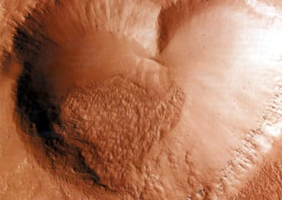 Volcan sur MARS