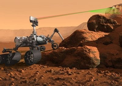 Robot martien Curiosity du MSL