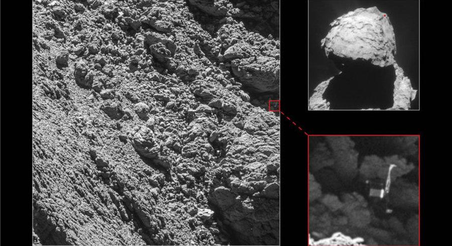 Philae atterrisseur de la sonde Rosetta