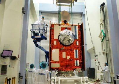Le satellite Sentinel-6 en salle de test