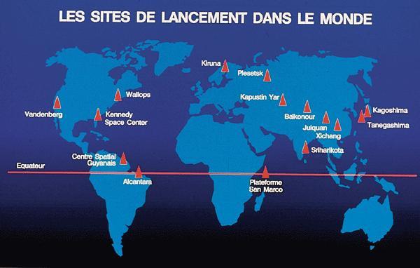 Site de lancements de fusées