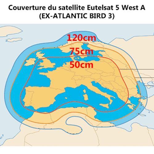 Couverture Eutelsat5