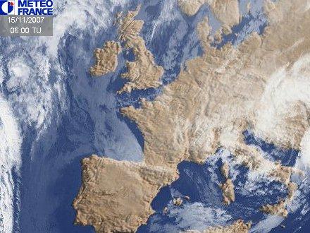 Image satellite de météo
