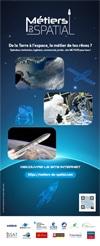 Affiche du site des métiers du spatial
