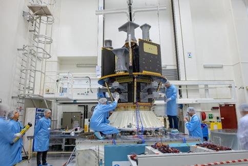 Tests de vibrations - ESA